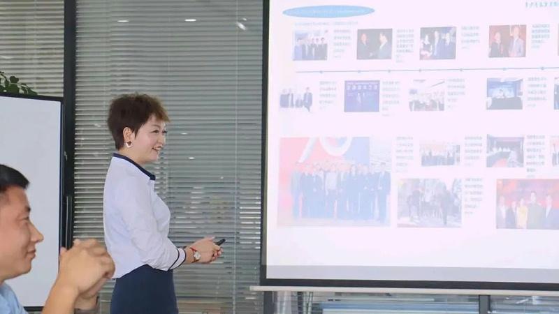 恩德莱成都公司川南片区经理王洪英