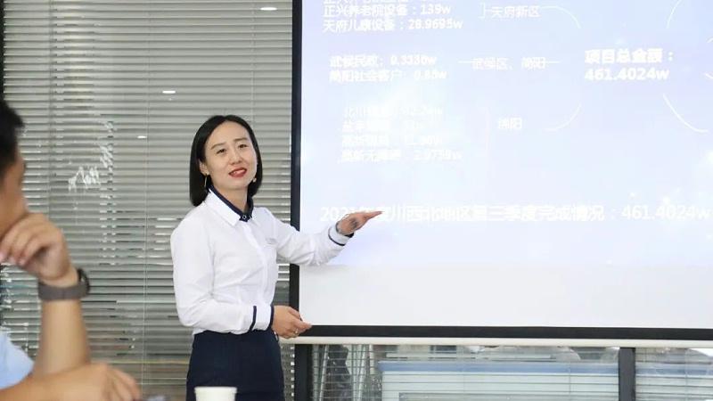 恩德莱成都公司成都片区经理李昕澤