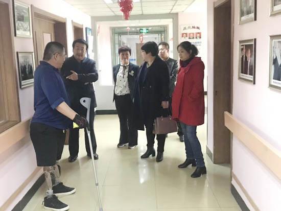 吉林省公主岭残联相关领导到访长春恩德莱02