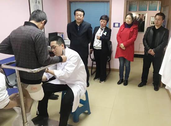 吉林省农安县残联领导到访长春恩德莱04