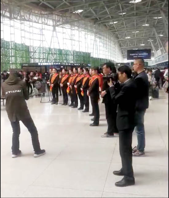恩德莱走进济南国际机场践行企业社会责任01