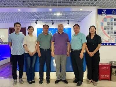 山东省康复辅助器具协会领导莅临「山东恩德莱公司」参观调研