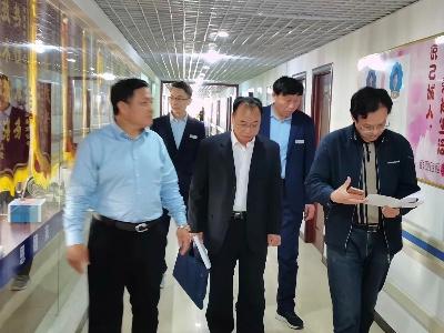 枣庄市社保局张科长一行来到「山东省恩德莱爱心店」参观考察