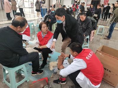 恩德莱公司连续三年为涉县革命老区残障人士服务!