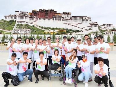 """恩德莱携手""""爱的阳光""""助残疾人圆梦西藏用真情助力残疾健儿勇创佳绩"""