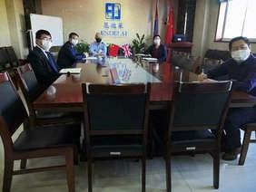 恩德莱北京系统各司负责人视频会议如期举行