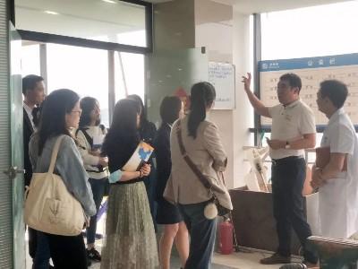 4月23日锦江区残疾人联合会莅临恩德莱成都公司参观指导