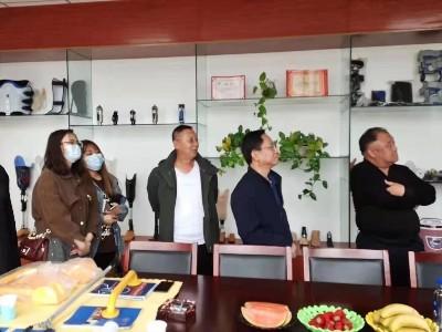 多区残疾人联合会理事长莅临内蒙古包头恩德莱公司参观指导