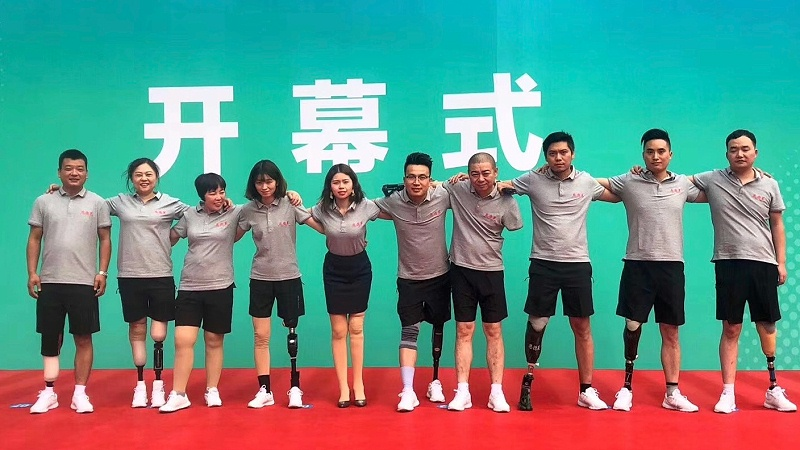 恩德莱参加2019首届长沙国际假肢康复设备及福祉辅具博览会01