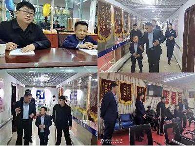 """喜迎济南市福利基金会和金环宇景观领导来""""山东恩德莱爱心店""""考察"""