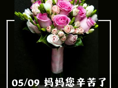 5月9日   恩德莱公司祝愿天下母亲节日快乐!