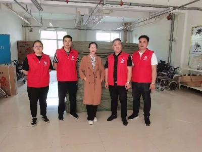 在助残日即将来临之际,恩德莱(邯郸)积极准备着助残日辅具发放工作