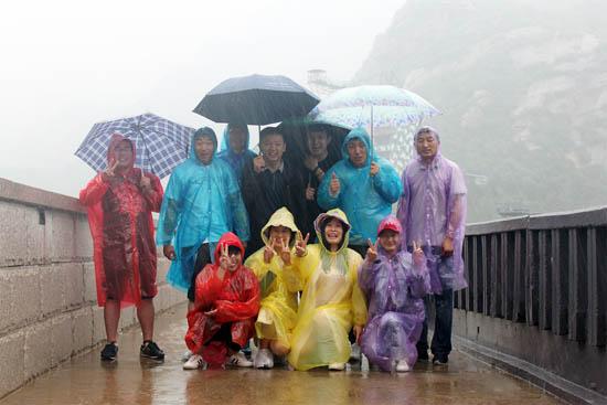 恩德莱北京总部全体职员走进北京青龙峡03