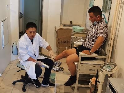 恩德莱北京公司来到中国残疾人辅具中心参观和考察